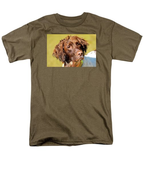 Maggie Head Photo Art Men's T-Shirt  (Regular Fit) by Constantine Gregory