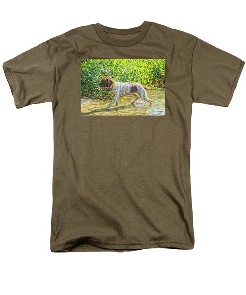 Men's T-Shirt  (Regular Fit) featuring the photograph Maggie Stride by Constantine Gregory