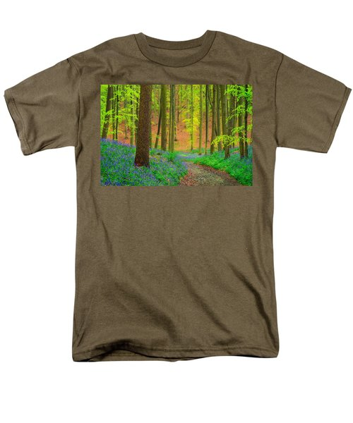 Men's T-Shirt  (Regular Fit) featuring the photograph Magical Forest by Maciej Markiewicz