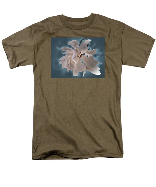 Men's T-Shirt  (Regular Fit) featuring the photograph Magnolia Blossoms by Judy Johnson