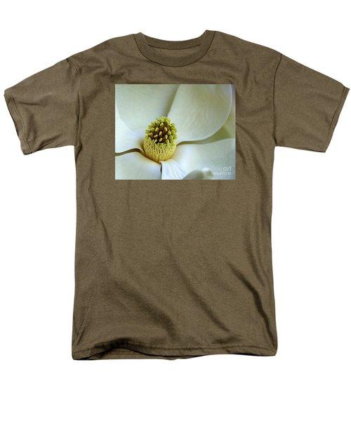 Men's T-Shirt  (Regular Fit) featuring the photograph Magnolia Heart by Lisa L Silva