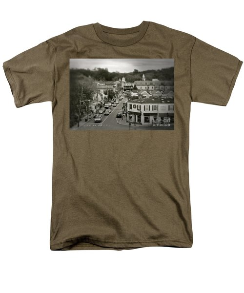Main Street, Port Jefferson, Ny Men's T-Shirt  (Regular Fit)