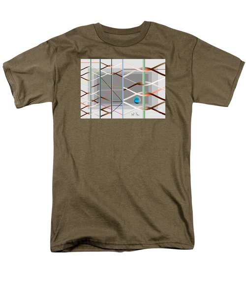 Men's T-Shirt  (Regular Fit) featuring the digital art Male And Female Logic by Leo Symon