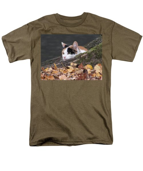 Ducks Watching Men's T-Shirt  (Regular Fit) by Kim Tran
