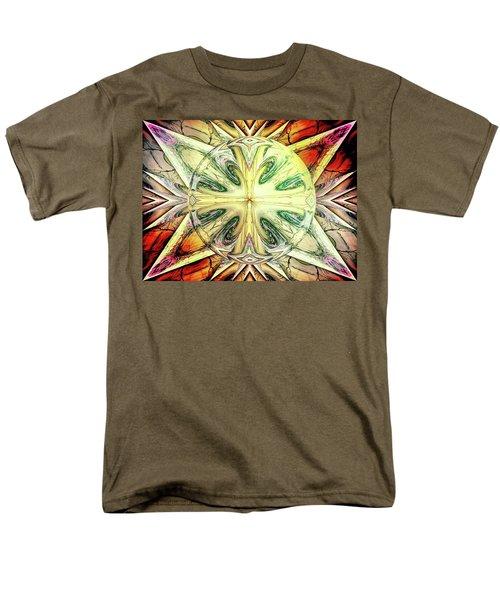 Mandala Men's T-Shirt  (Regular Fit) by Beto Machado