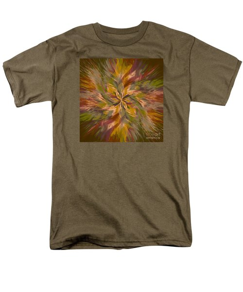 Men's T-Shirt  (Regular Fit) featuring the photograph Mandala Twirl 05 by Jack Torcello