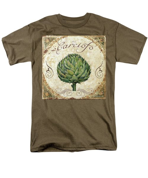 Mangia Artichoke Men's T-Shirt  (Regular Fit) by Mindy Sommers
