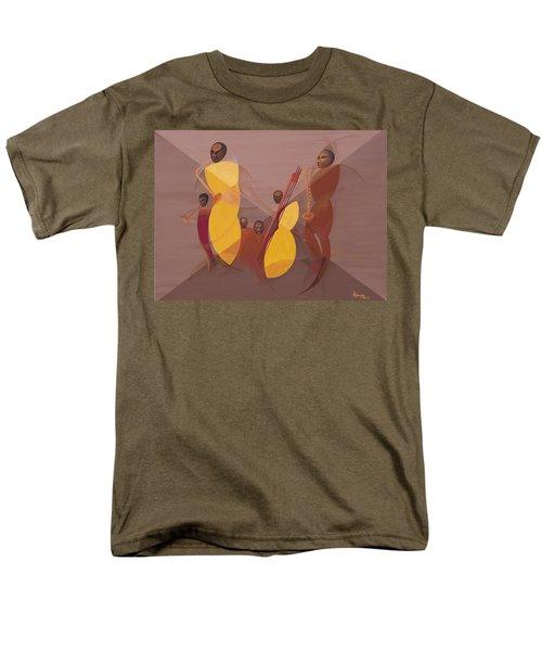 Mango Jazz Men's T-Shirt  (Regular Fit) by Kaaria Mucherera