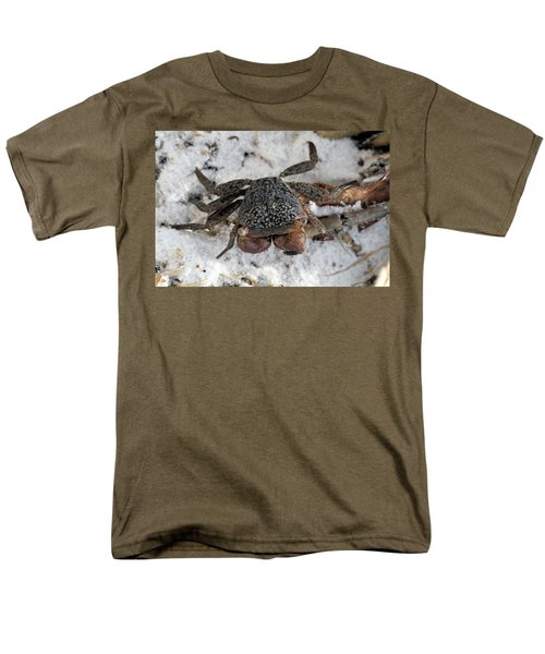Men's T-Shirt  (Regular Fit) featuring the photograph Mangrove Tree Crab by Doris Potter