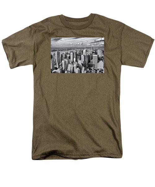 Manhattan  Men's T-Shirt  (Regular Fit) by Sabine Edrissi