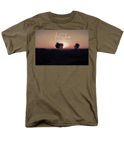 Men's T-Shirt  (Regular Fit) featuring the photograph Mara Morning by Karen Lewis