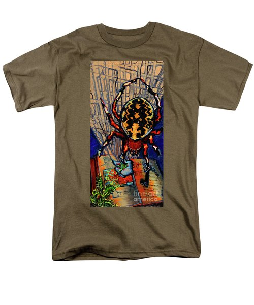 Marbled Orbweaver Men's T-Shirt  (Regular Fit) by Emily McLaughlin