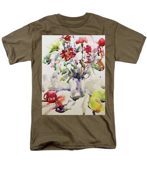 March Greeting Men's T-Shirt  (Regular Fit) by Becky Kim