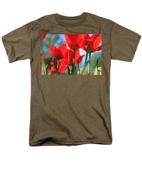 March Tulips Men's T-Shirt  (Regular Fit) by Jeanette French