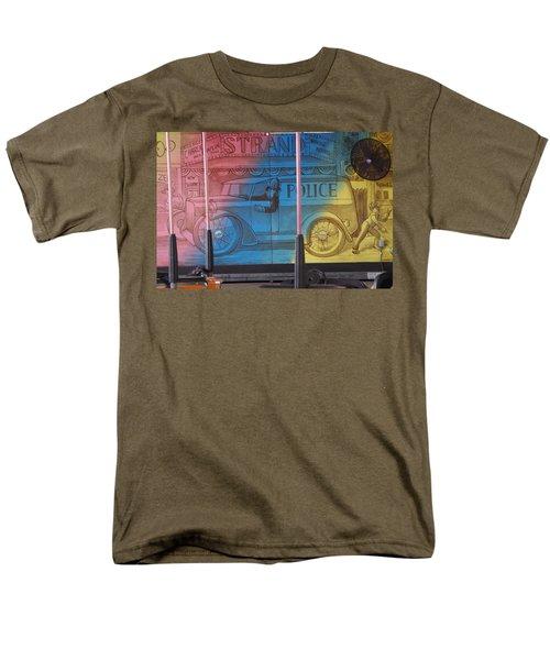 Men's T-Shirt  (Regular Fit) featuring the photograph Mariner's Landing by Greg Graham