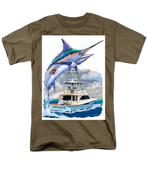 Marlin Commission  Men's T-Shirt  (Regular Fit) by Carey Chen