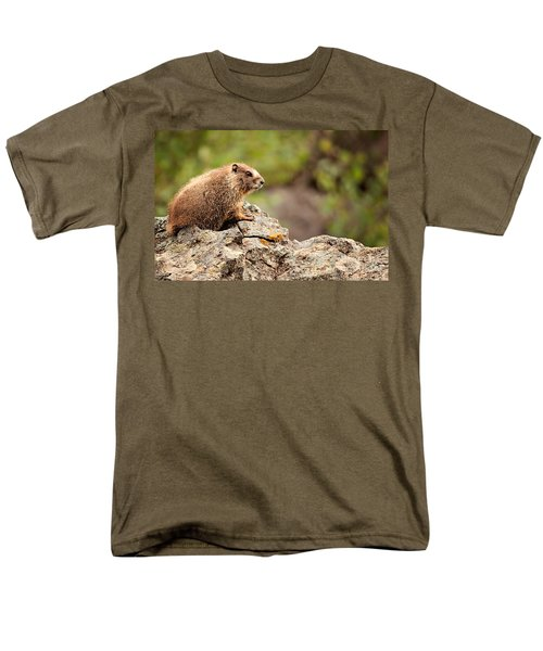 Marmot Men's T-Shirt  (Regular Fit) by Lana Trussell