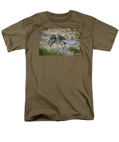 Martial Eagle Men's T-Shirt  (Regular Fit) by Gary Hall