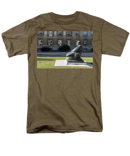 Marulic Square Zagreb  Men's T-Shirt  (Regular Fit)