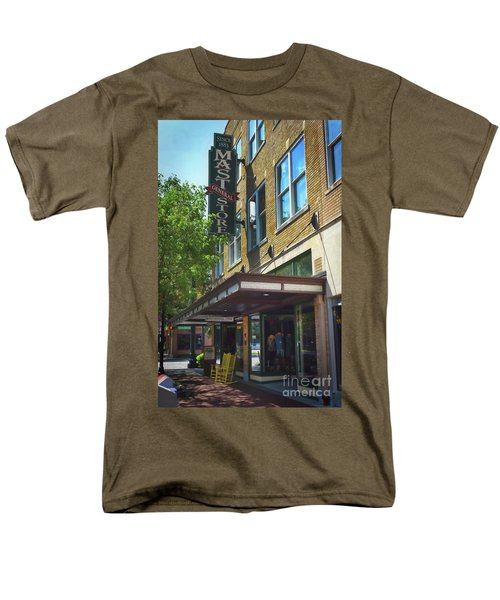 Men's T-Shirt  (Regular Fit) featuring the photograph Mast General by Skip Willits