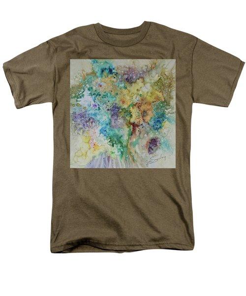 May Flowers Men's T-Shirt  (Regular Fit) by Joanne Smoley