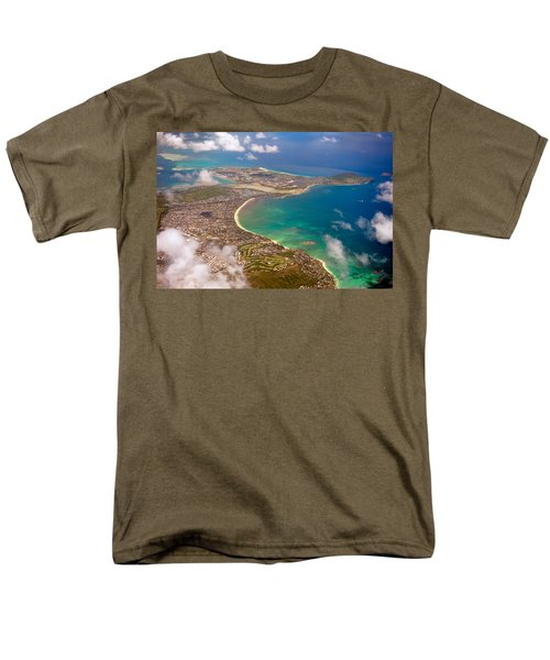 Men's T-Shirt  (Regular Fit) featuring the photograph Mcbh Aerial View by Dan McManus