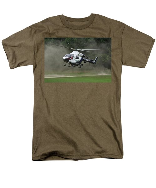 Men's T-Shirt  (Regular Fit) featuring the photograph Mcdonnell Douglas Md-902 Explorer  by Tim Beach