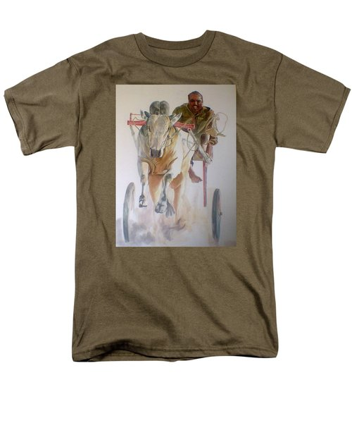 Me And My Partener Men's T-Shirt  (Regular Fit) by Khalid Saeed