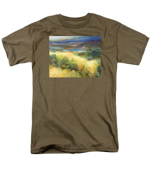 Meadowlands Of Gold Men's T-Shirt  (Regular Fit) by Glory Wood