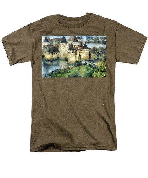 Medieval Knight's Castle Men's T-Shirt  (Regular Fit) by Sergey Lukashin