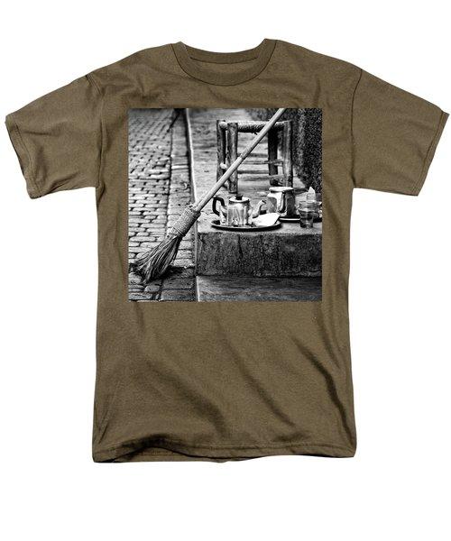 Men's T-Shirt  (Regular Fit) featuring the photograph Medina Tea Break by Marion McCristall