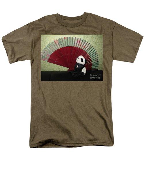 Men's T-Shirt  (Regular Fit) featuring the photograph Meditation Hour by Ausra Huntington nee Paulauskaite