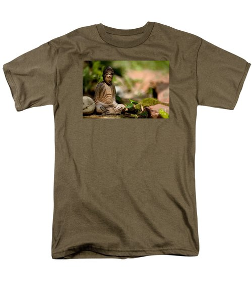 Meditation Men's T-Shirt  (Regular Fit) by Jean Bernard Roussilhe