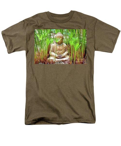 Meditation Men's T-Shirt  (Regular Fit) by Ray Shrewsberry