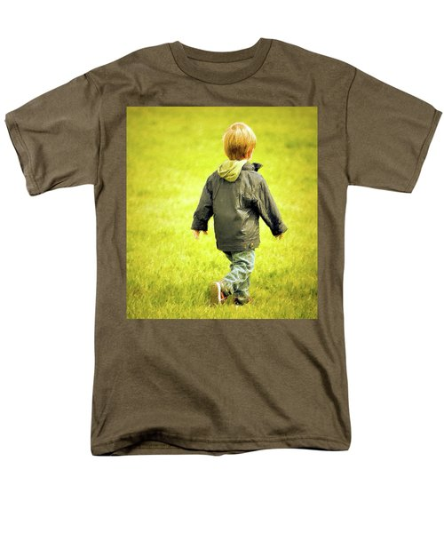 Men's T-Shirt  (Regular Fit) featuring the photograph Memories... by Barbara Dudley