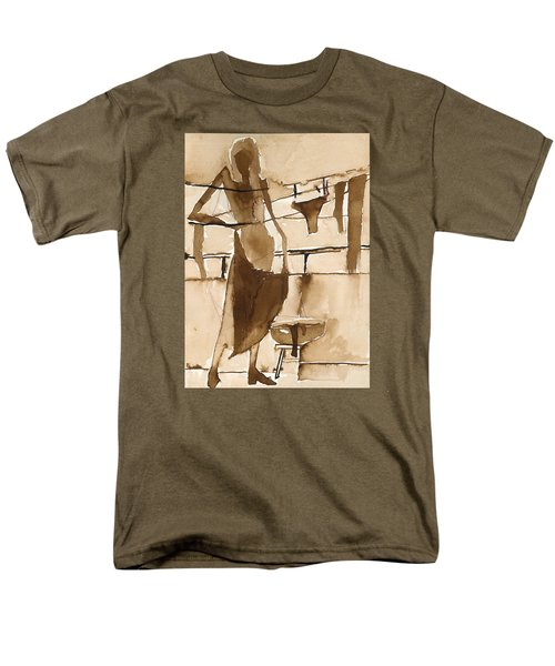 Men's T-Shirt  (Regular Fit) featuring the painting Memories From Childhood by Maya Manolova