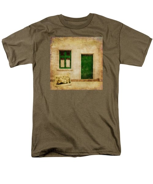 Memories Of Irish Green Men's T-Shirt  (Regular Fit) by Bellesouth Studio