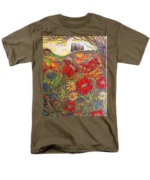 Memories Of Tuscany Men's T-Shirt  (Regular Fit) by Rae Chichilnitsky