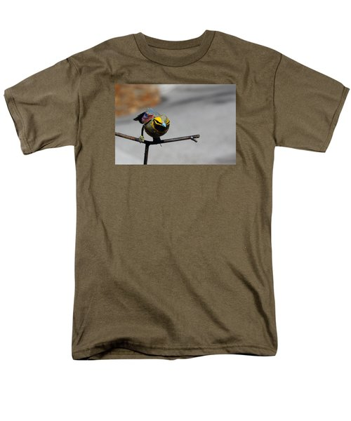 Men's T-Shirt  (Regular Fit) featuring the photograph Metallic Bunting by Richard Patmore