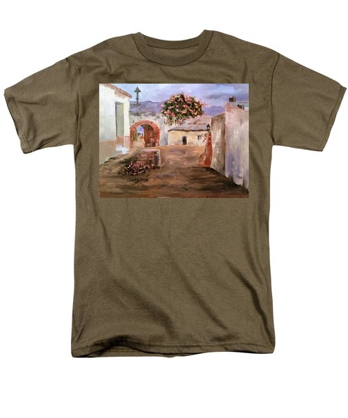 Mexican Street Scene Men's T-Shirt  (Regular Fit) by Larry Hamilton