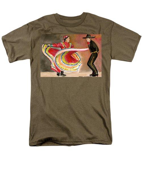 Mexico City Ballet Folklorico Men's T-Shirt  (Regular Fit) by Frank Hunter