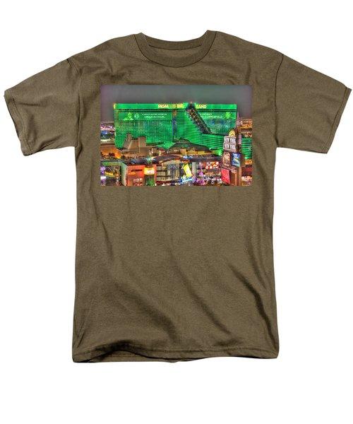 Mgm Grand Las Vegas Men's T-Shirt  (Regular Fit) by Nicholas  Grunas