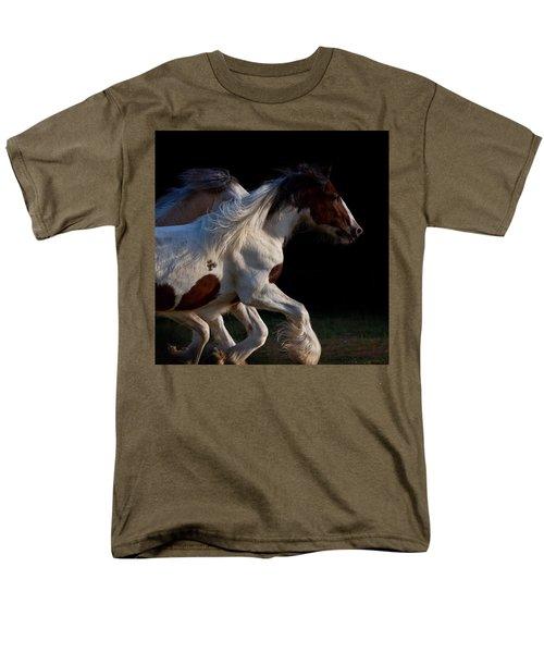 Men's T-Shirt  (Regular Fit) featuring the photograph Midnight Run by Sharon Jones