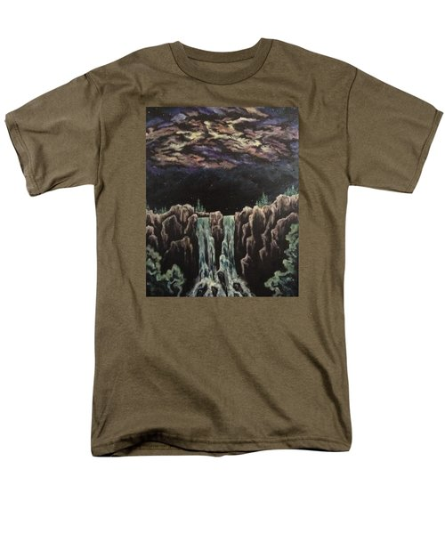 Men's T-Shirt  (Regular Fit) featuring the painting Milkyway by Cheryl Pettigrew