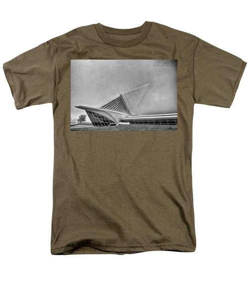 Men's T-Shirt  (Regular Fit) featuring the photograph Milwaukee Museum Of Art Special 2 by David Haskett