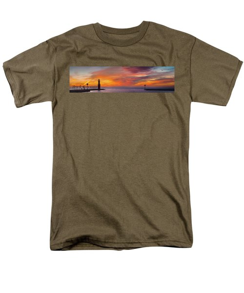 Men's T-Shirt  (Regular Fit) featuring the photograph Mine Eyes Have Seen The Glory by Bill Pevlor