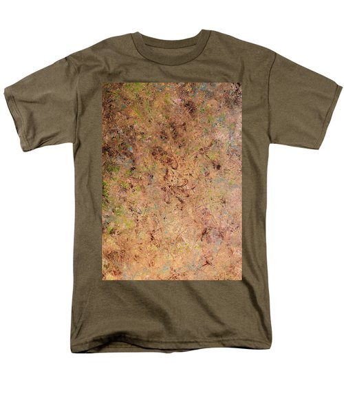 Men's T-Shirt  (Regular Fit) featuring the painting Minimal 7 by James W Johnson