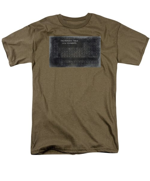 Minimalist Periodic Table Men's T-Shirt  (Regular Fit) by Daniel Hagerman