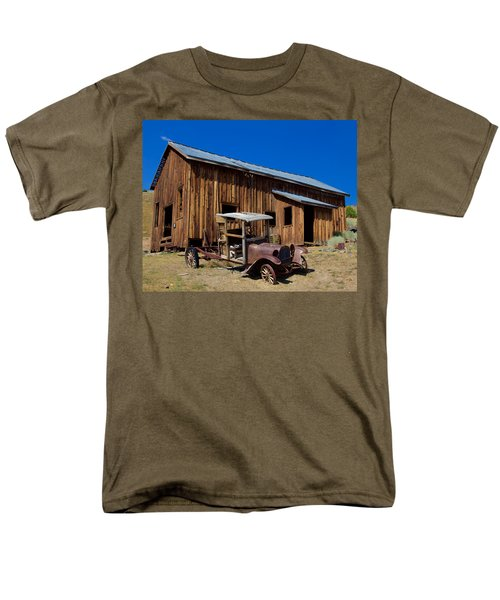 Mining Relic Men's T-Shirt  (Regular Fit) by Todd Kreuter