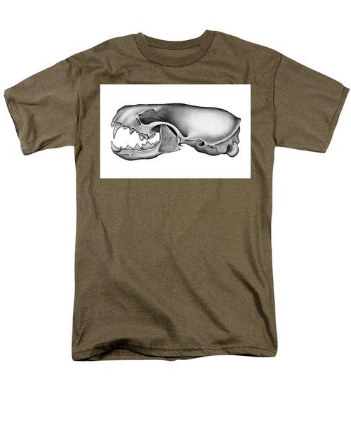 Mink Skull Men's T-Shirt  (Regular Fit)